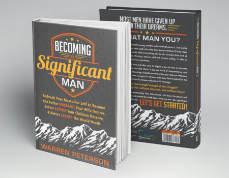 Becoming a Significant Man Book Covers
